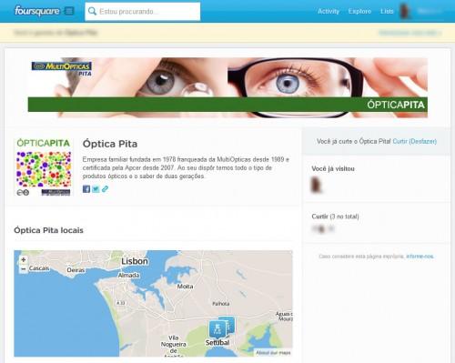Óptica Pita no Foursquare