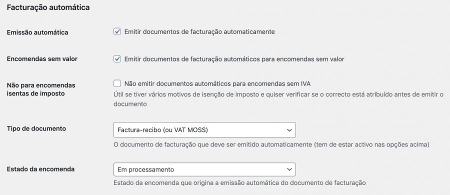 Facturação automática com as novas regras do IVA das vendas à distância